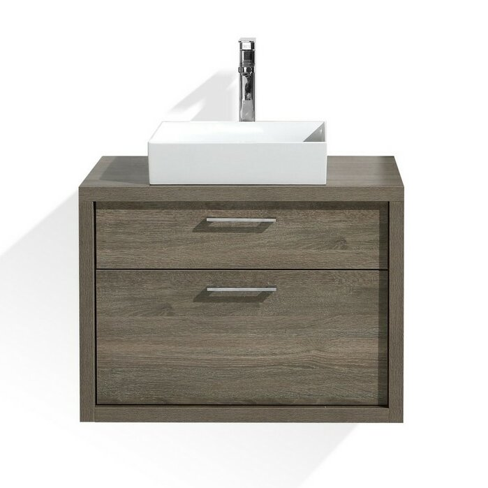 Kube Bath Tucci  Modern Bathroom Vanity  Reviews Wayfair - 30 bathroom vanity with sink