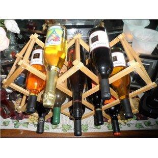 Elrod 10 Bottle Tabletop Wine Rack