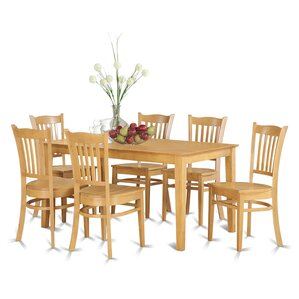 Capri 7 Piece Dining Set by Wooden Importers