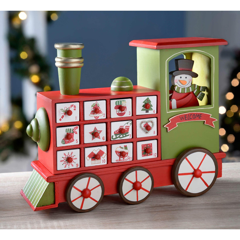 Train Wooden Advent Calendar