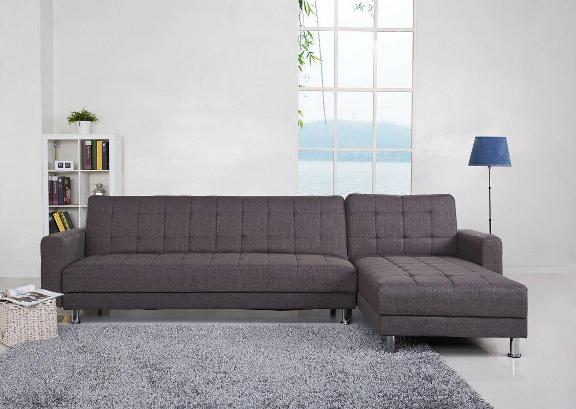 Mercury Row Shirley Corner Sofa Bed & Reviews | Wayfair.co.uk