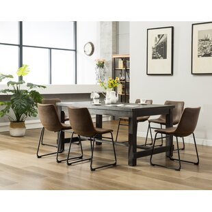 Modern & Contemporary 7 Piece Kitchen Dinette Sets | AllModern