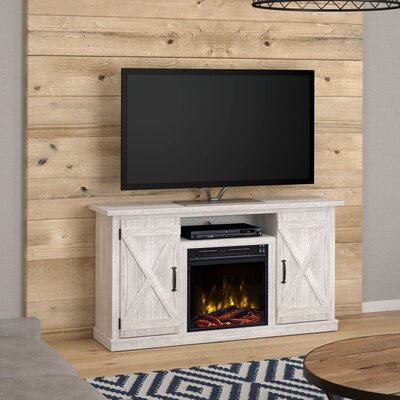 fireplace tv stands entertainment centers you 39 ll love. Black Bedroom Furniture Sets. Home Design Ideas