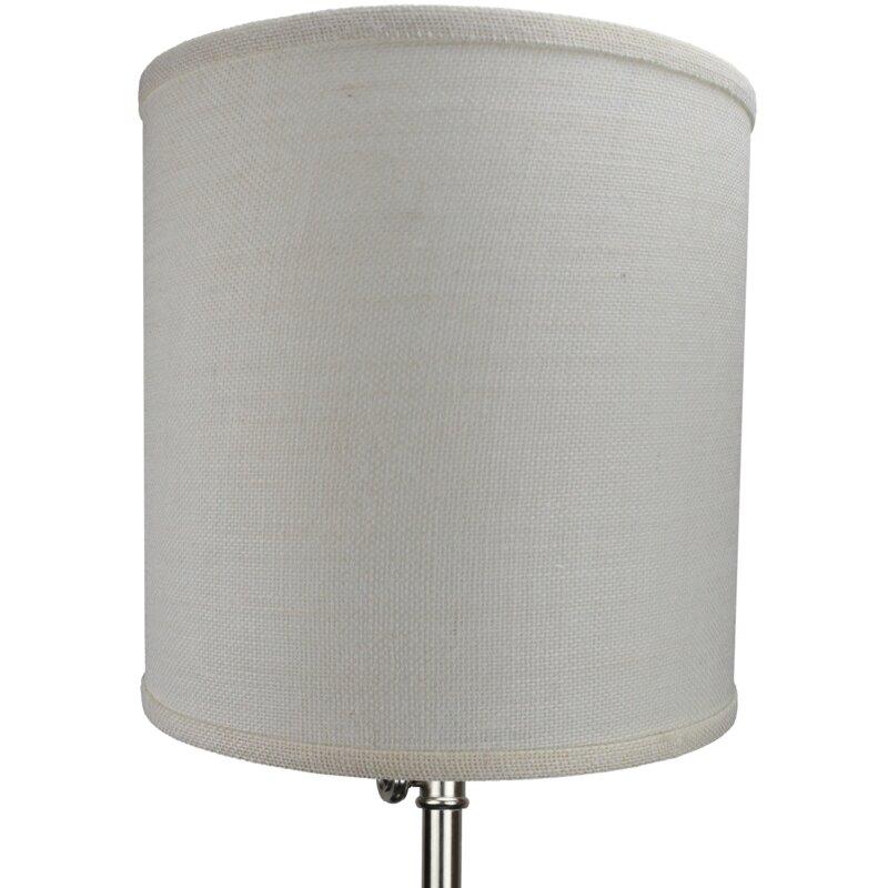 fenchel shades 12 burlap drum lamp shade reviews. Black Bedroom Furniture Sets. Home Design Ideas