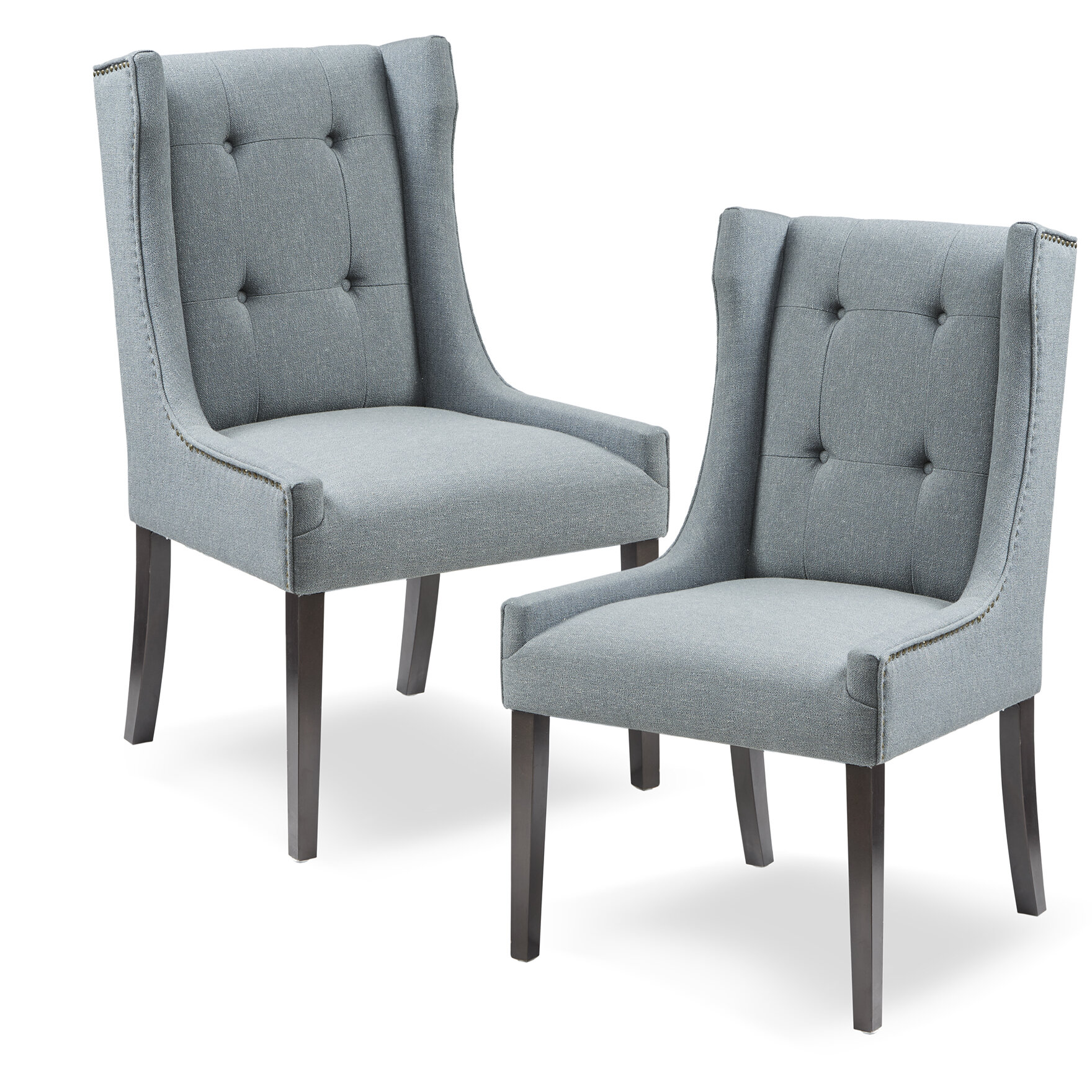 Charlton home gunnar upholstered dining chair wayfair