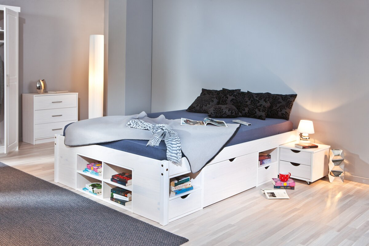 modern you funktionsbett martin mit stauraum. Black Bedroom Furniture Sets. Home Design Ideas