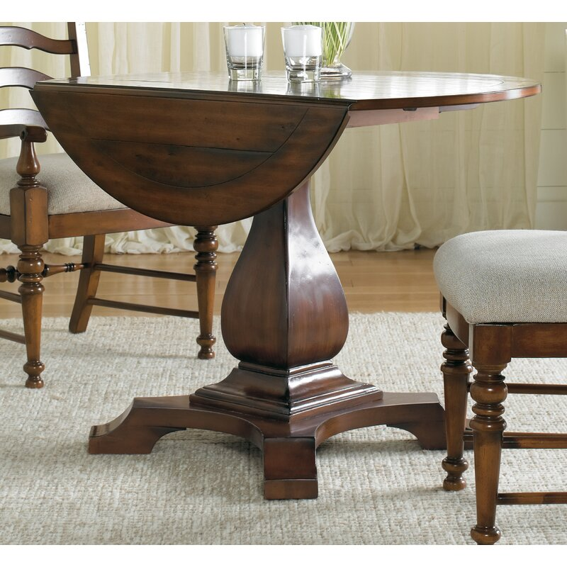 Beau Waverly Place Round Drop Leaf Table