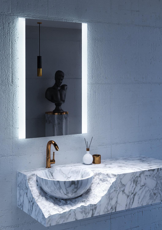 CIVIS USA Charli LED Lighted Mirror & Reviews | Wayfair