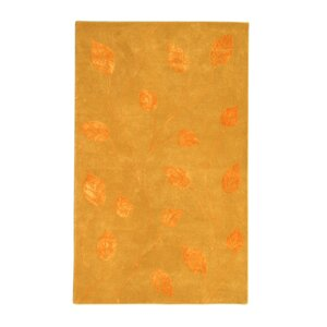 Florence Gold/Tangerine Area Rug