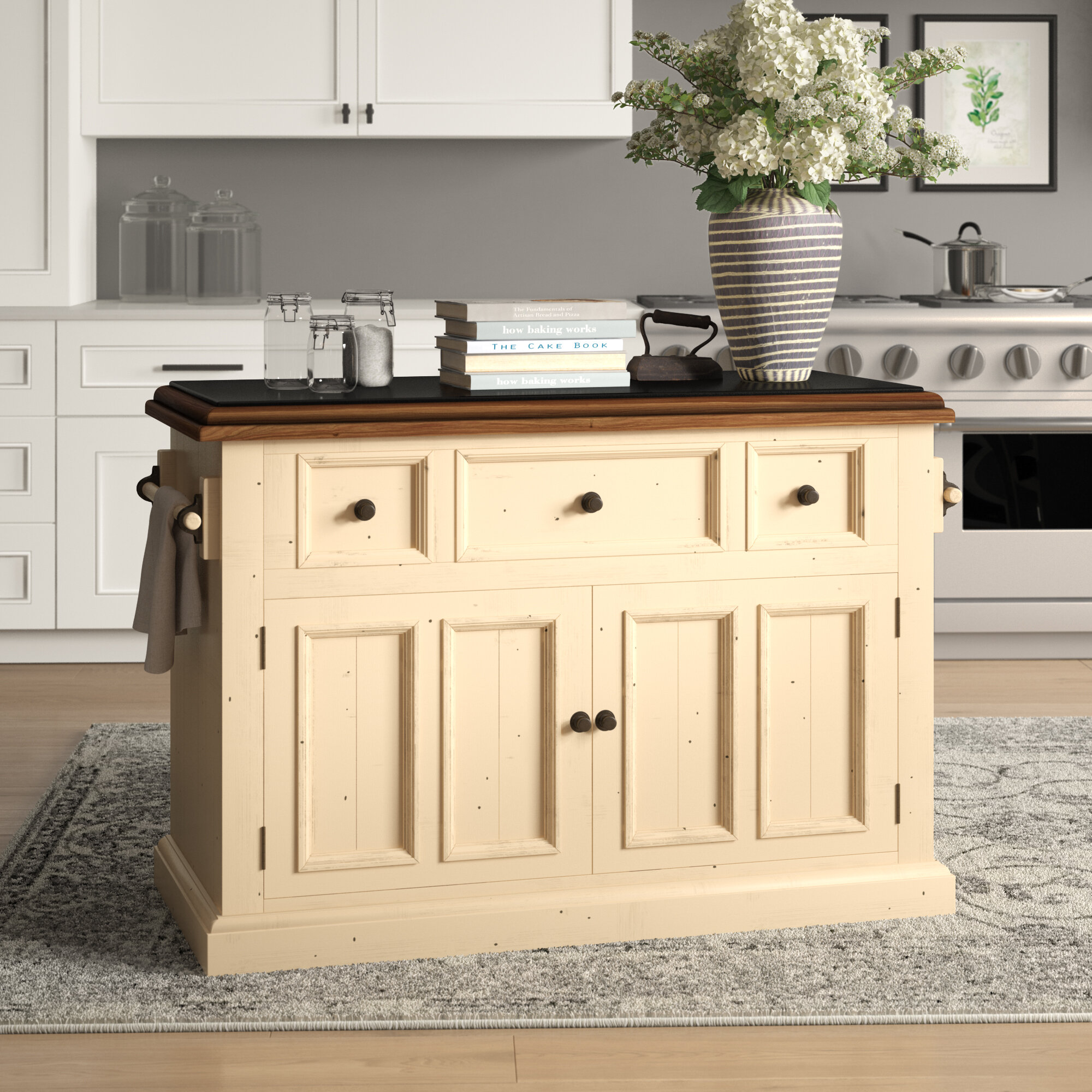 Kitchen Prep Stations & Tables You'll Love in 2019 | Wayfair