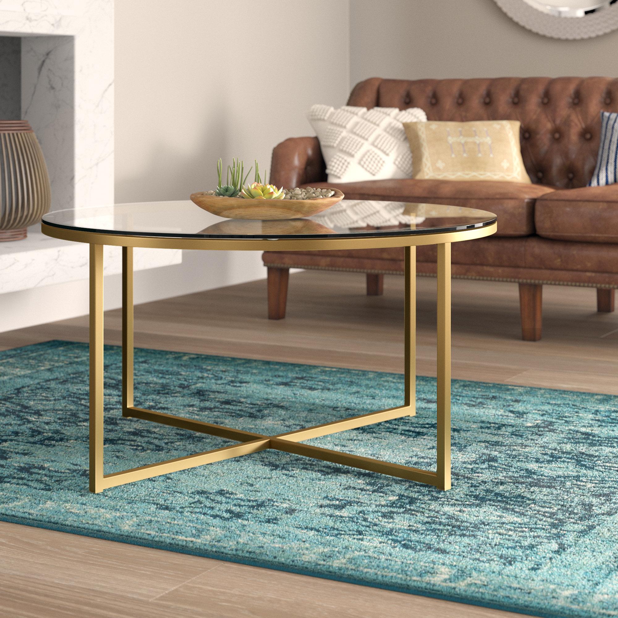 Mercer41 Zara Coffee Table With Tray Top Reviews Wayfair