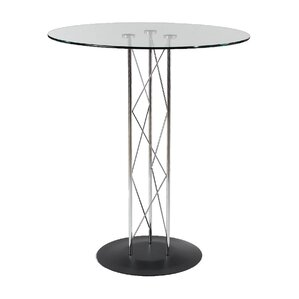 Berlanga Dining Table with Tempered Glass Top by Orren Ellis