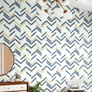Peel And Stick Wall Paper Blue Wayfair