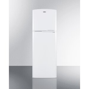 Summit Thin-Line Frost-Free 8.8 Cu. Ft. Counter Depth Top Freezer Refrigerator with Icemaker