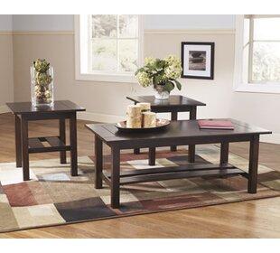 Frances 3 Piece Coffee Table Set & Coffee Table Sets Youu0027ll Love | Wayfair