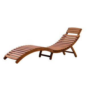 Nice Curved Folding Chaise Lounge