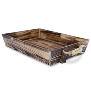 9480c54bfc Cheyenne Wells Wooden Accent Tray with Handles