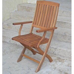 joaquin folding patio chair set of 2 - Folding Outdoor Chairs