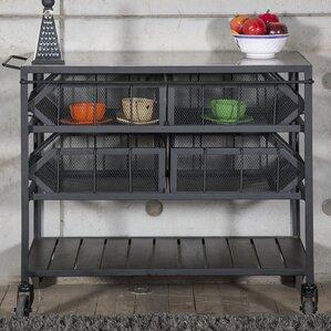 Estee Bar Cart by 17 Stories