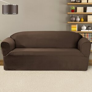 Bayleigh Box Cushion Sofa Slipcover by Cover..