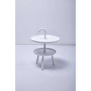 Chamorro Round Top Side Table by Varick Gall..