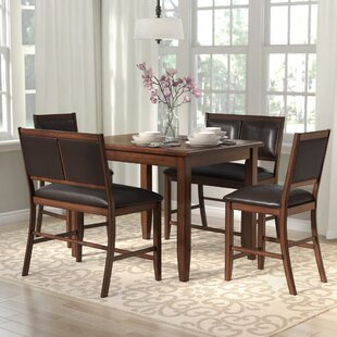 Chavers 5 Piece Counter Height Dining Set