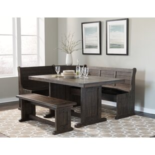 Attirant Murilda Breakfast Nook Dining Set