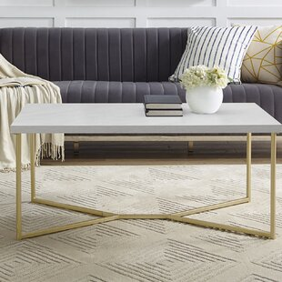 gold coffee tables you 39 ll love wayfair. Black Bedroom Furniture Sets. Home Design Ideas