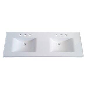 vanity double sink top. Premier 61  Double Bathroom Vanity Top Tops You ll Love Wayfair