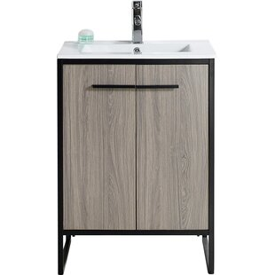 trendy on digsdigs it chic metal vanities concrete be vanity bathroom can ideas a legs industrial diyed will very durable and