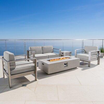 Sunbrella Fabric Included Outdoor Sofa Sets Joss Amp Main
