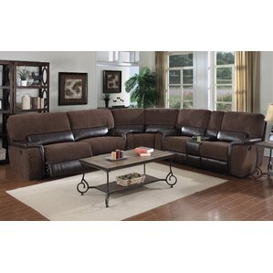 Micaela Reclining Sectional by E-Motion Furn..
