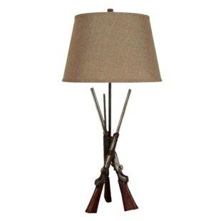 Lorelei Polyresin 30 Tripod Table Lamp