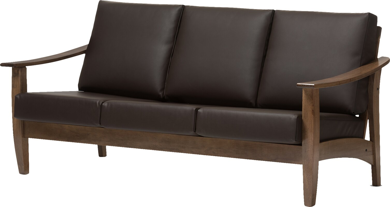 Baxton Studio 3 Seater Sofa