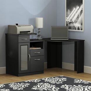 Superbe Black Corner Desks