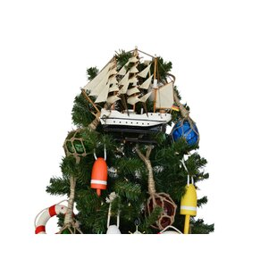 Gorch Fock Model Ship Christmas Tree Topper Decoration