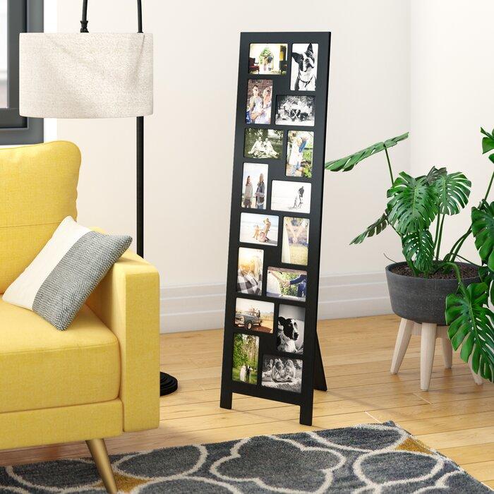 Latitude Run Guyer 16 Opening Wood Floor Standing Easel Picture
