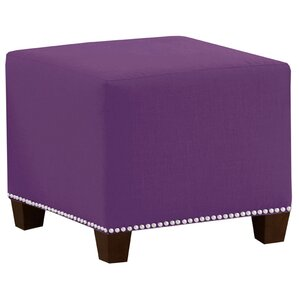 Frieda Cotton Duck Ottoman by Skyline Furnit..