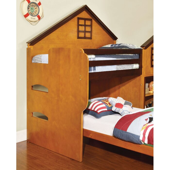 Aj Homes Studio Rachel Twin Over Twin L Shaped Bunk Beds With