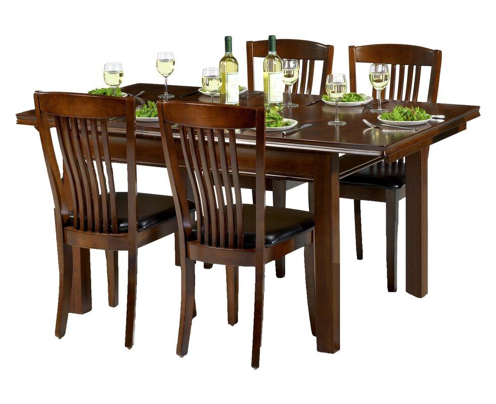 classicliving essgruppe remsen mit ausziehbarem tisch und 4 st hlen bewertungen. Black Bedroom Furniture Sets. Home Design Ideas