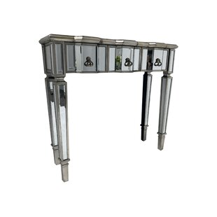 Jackson Slim Mirrored Console Table