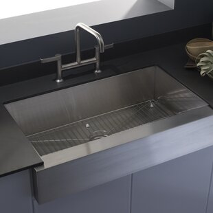 vault farmhouse single bowl kitchen sink by kohler - Kohler Kitchen Sinks
