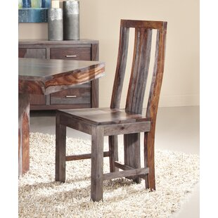 Cothern Modern Solid Wood Dining Chair (Set of 2)