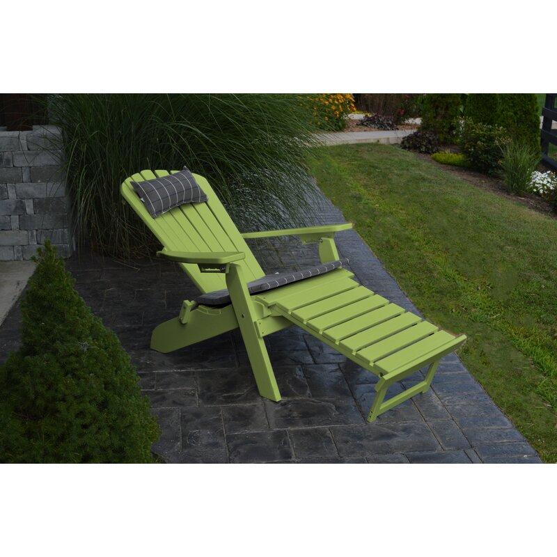 a l furniture plastic folding adirondack chair with ottoman