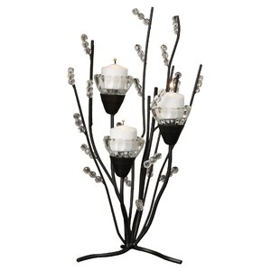 Thornaby Metal Branches Candle Holder