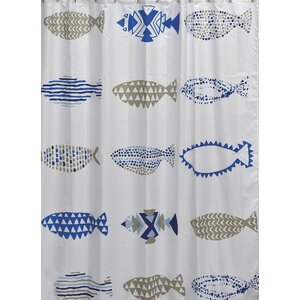 Nautical Printed Shower Curtain