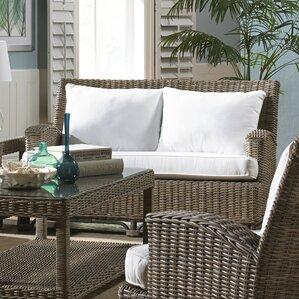 Exuma Loveseat with Cushion by Panama Jack S..