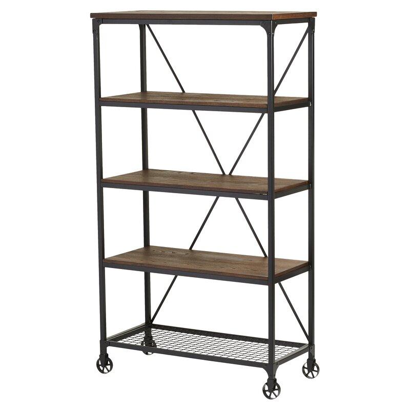 mercury row corvus etagere bookcase reviews wayfair. Black Bedroom Furniture Sets. Home Design Ideas
