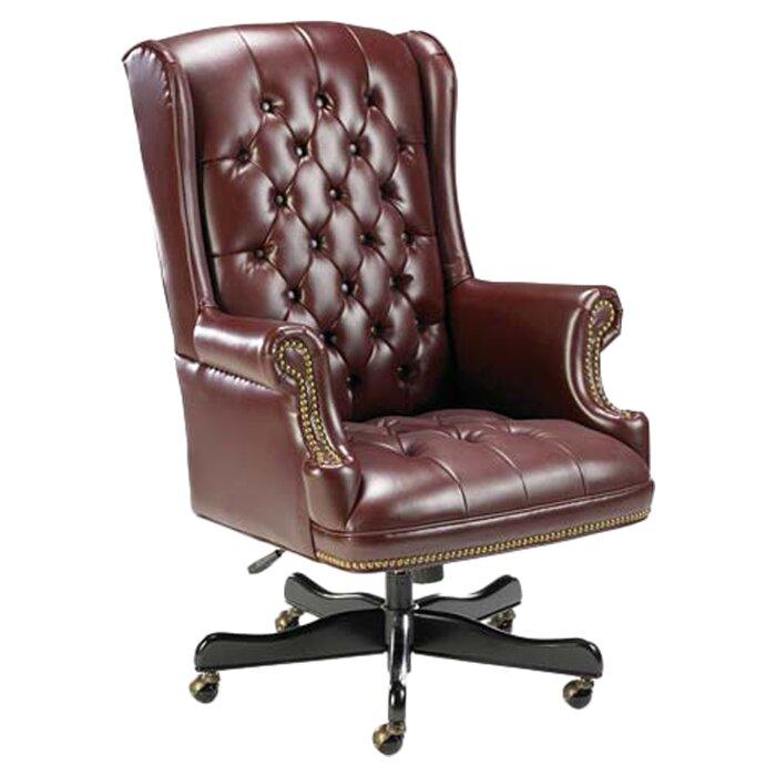 lorell traditional executive chair & reviews | wayfair