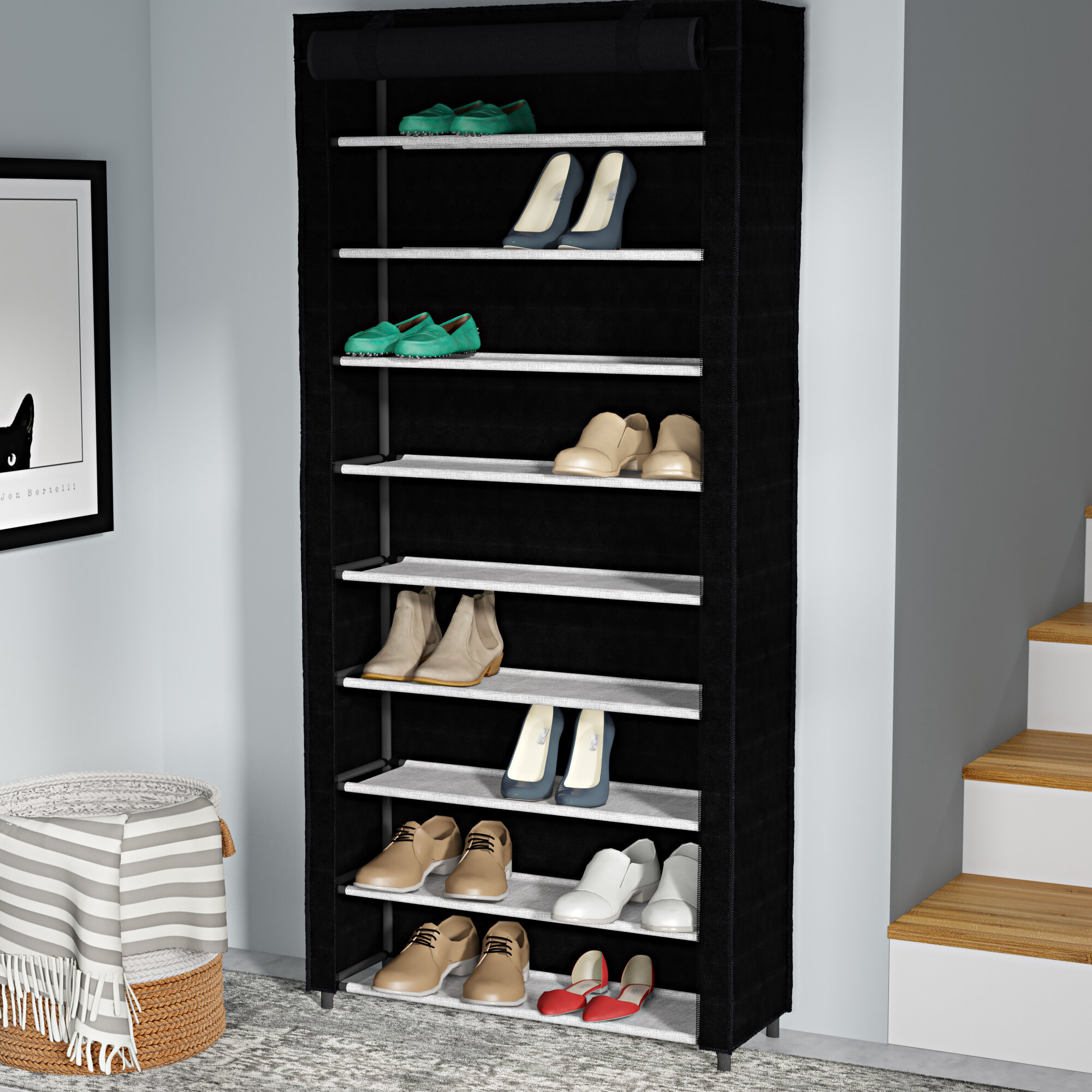 Metal Shoe Storage Youu0027ll Love In 2019 | Wayfair